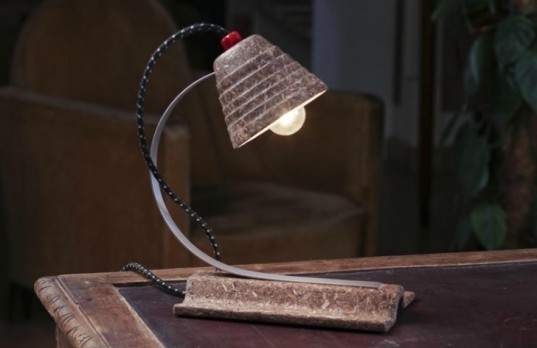 Luis Teixeira, eco lamps, adaptive reuse, recycled materials, repurposed objects, green lighting, sustainable design, eco design
