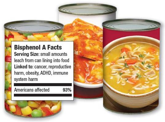 FDA, NRDC, BPA, BPA in food packaging, BPA ban, food packaging ban on BPA, FDA ban on BPA