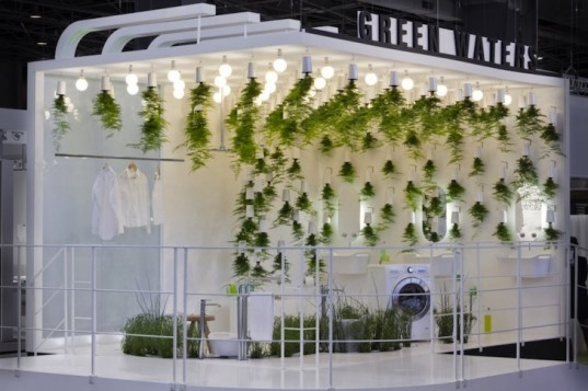 green design, sustainable design, eco-design, Green Waters, Patrick Nadeau, bathroom, LG Hauys, France, Paris, Compost toilet, wetland plants, recycling water, water conservation, grey water, wastewater treatment, the bathroom of the future
