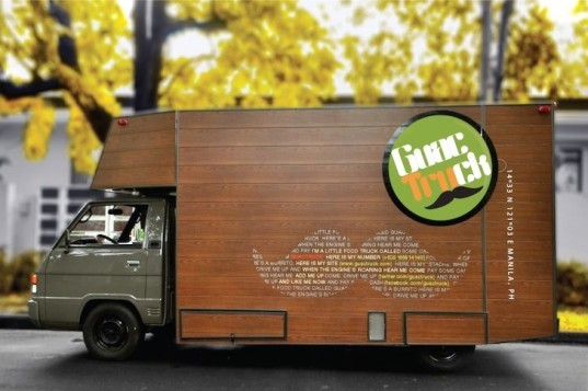 guacktruck, manilla, philippines, michealle lee, natassha chan, locally-sourced food, food miles, energy efficiency, LED, small footprint, green design, sustainable design, eco-design, retrofitted mitsubishi, tacos, burritos, mexican food