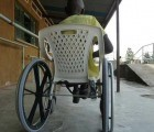 Simple Wheelchairs Made From Reused Plastic Chairs Help Injured People in Rwanda