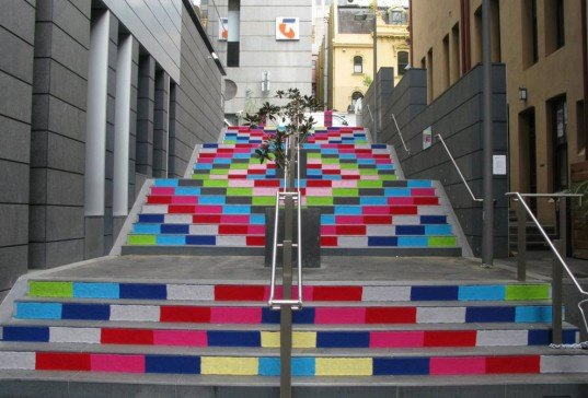Magda Sayeg, Knitta Please, KnittaPlease, yarn bombing, art, street art, graffiti, yarn graffiti, crafts, etsy, diy, knitting