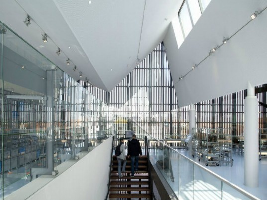 Maritime and Beachcombers Museum, Mecanoo Architecten, kaap skil, texel, the netherlands, museum, daylighting