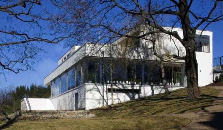 Two year renovation of mies van der rohe 39 s villa tugendhat - Casa tugendhat mies van der rohe ...