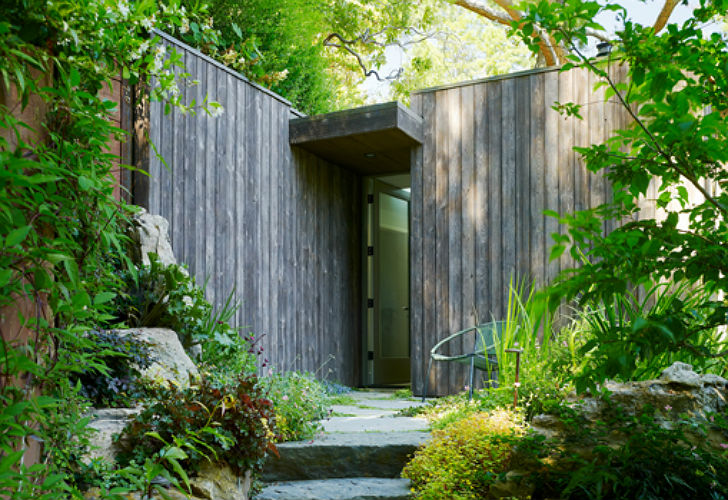 Mill valley cabins are green roofed low impact studios for Mill valley architects
