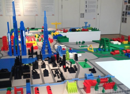 The Great North Build, Lego, urban design, urban planning, green design, sustainable design, UK, Newcastle University, Institute for Social Renewal, Lego City