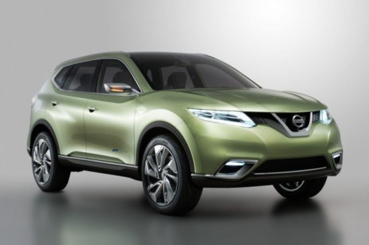 nissan, nissan hi-cross concept, 2012 geneva motor show, hybrid, hybrid crossover, ev, electric vehicle, lithium ion battery, CVT, green transportation, automotive, electric cars