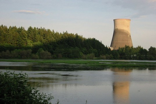 Nuclear power, nuclear power plant, nuclear reactor, cooling tower, Trojan Nuclear Power Plant