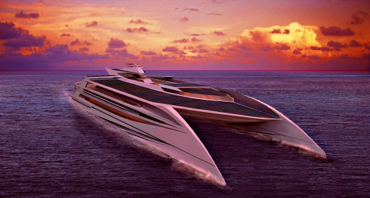 Ocean Supremacy The Largest And Greenest Superyacht In The World - 5 largest ocean in the world