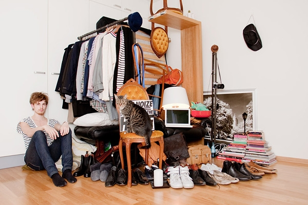 All I Own: Swedish Students Photographed With All Their Possessions Show  How to Live With less | Inhabitat - Green Design, Innovation, Architecture,  ...
