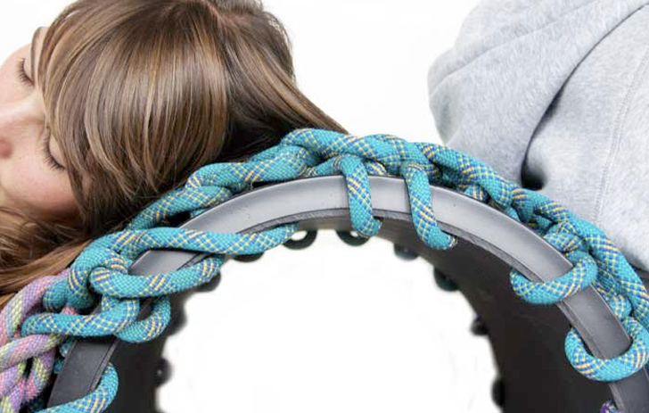 seilschaft recycled climbing rope furniture by seilfaktur