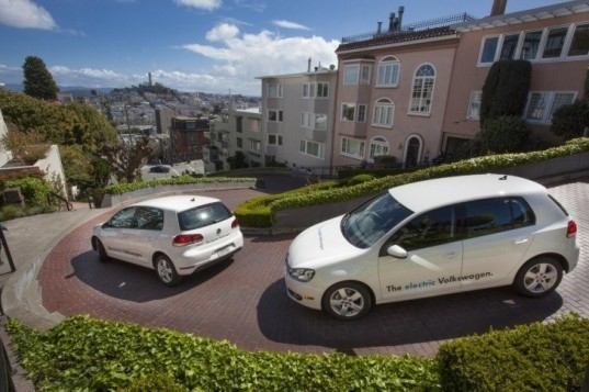automotive, electric vehicle, green transportation, green vehicle, volkswagen, volkswagen E-Golf, Volkswagen electric vehicle, Volkswagen Think Blue
