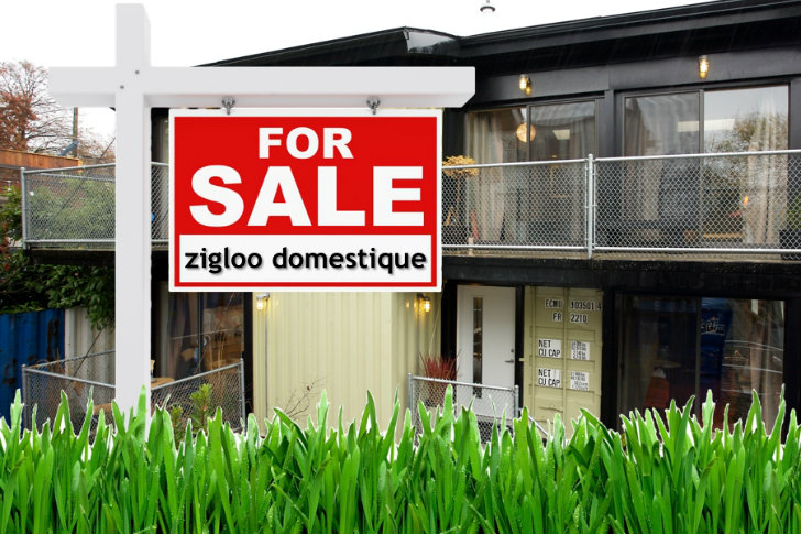 Zigloo domestique shipping container house is up for sale in canada inhabitat green design - Container homes california ...