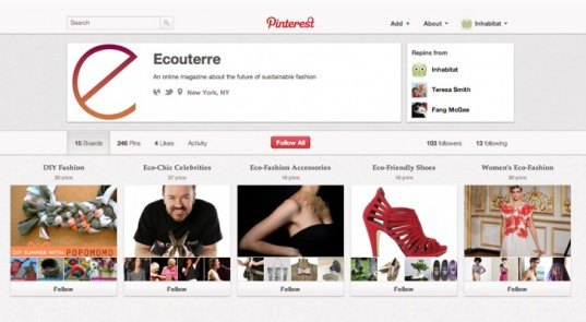 Ecouterre on Pinterest, pinterest, ecouterre, green fashion, eco fashion, green fashion pinterest, sustainable style