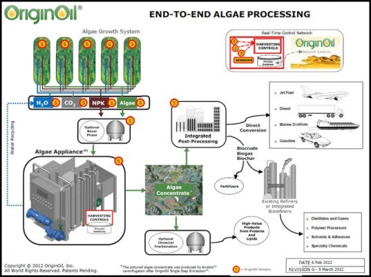OriginOil, algae, wastewater, water treatment, sewage treatment, clean energy, renewable energy