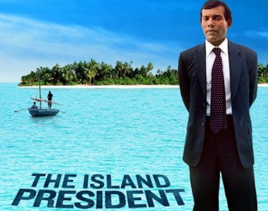 the island president, male, maldives, island nation, mohamed nasheed, film review