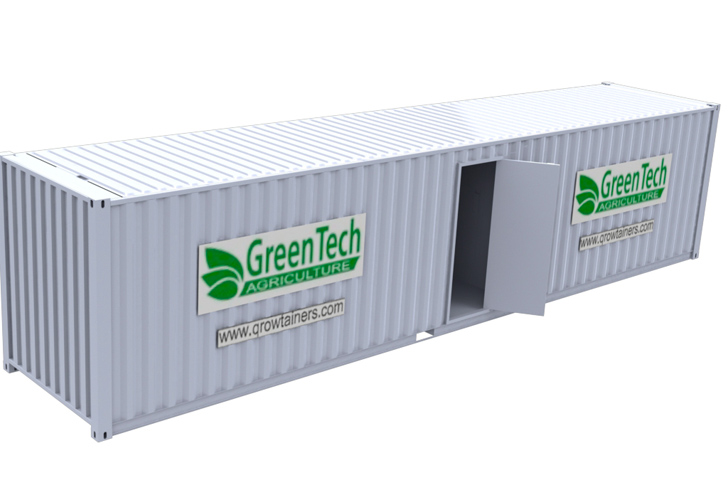 Mobile Growtainers Provide Controlled Environments For
