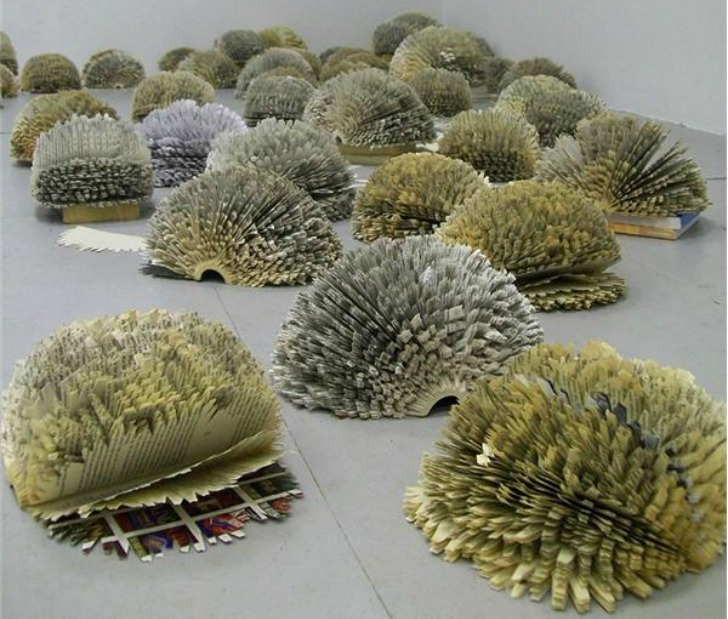 Julie Dodd Sculpts Delicate Nature Inspired Artwork From