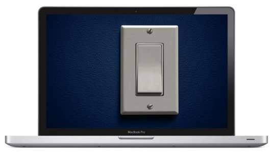 light switch for your computer, light switch widget, earth hour widgets, earth hour applications, computers, mac book pro