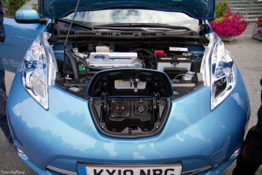 Nissan Leaf Miles Per Charge Electric Vehicle Upgrade Leather Interior