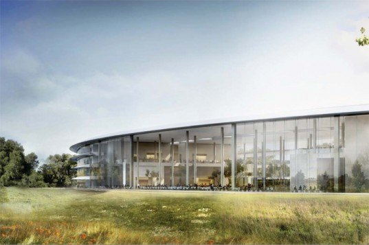 natural resources defense council, apple inc, cupertino campus, silcon valley, suburban sprawl, foster + partners, retrofitting suburbia, solar panels, renewable energy, sustainable architecture