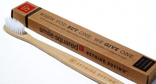 smiled squared toothbrush, eco toothbrush, bamboo toothbrush, dental health for those is need, green dental care, eco dental care