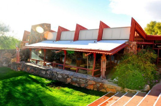 Taliesin West, Frank Lloyd Wright, FLW, prairie style architecture, national register of historic places, Arizona, AZ, solar, net-zero energy, clean energy, green retrofits, green renovations, historic architecture, Scottsdale, Phoenix