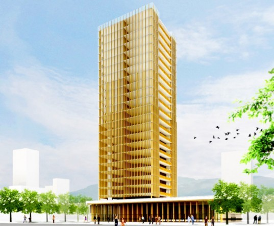 MGA, wood tower, woodscraper, wood high-rise, wood mid-rise, green tower, green highrise, eco highrise, Vacouver green building