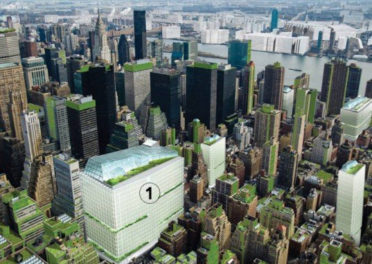 Terreform Proposes Covering Nyc With Vertical Gardens