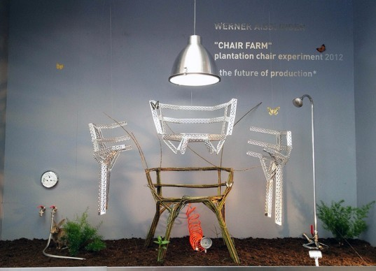 Plant Your Chair, naturally made chairs, chairs you grow, eco furniture, low impact funiture, living furniture