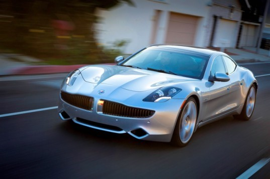 Luxury Vehicle: Justin Bieber Wraps His 2012 Fisker Karma In Shiny Chrome