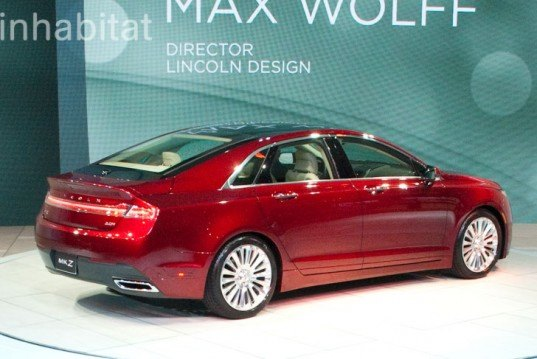 2012 New York Auto Show, Ford, fuel efficient, green transportation, hybrid, lincoln, lincoln hybrid, Lincoln MKZ