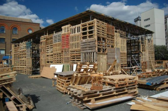 I-Beam Pallet House, 6 Pallet Architecture, shipping pallets, pallet architecture, shipping pallet, pallet
