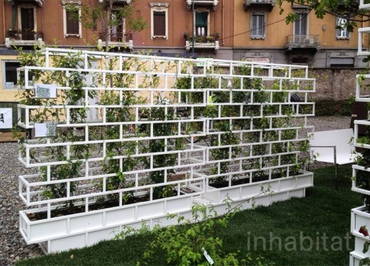 green wall, nautinox living, Luca Pegolo, outdoor furniture, gardening, goodesign,bestup, milan design week