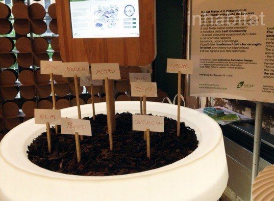 leaf meter, supervise, sustainable, community, milan design week, goodesign, bestup