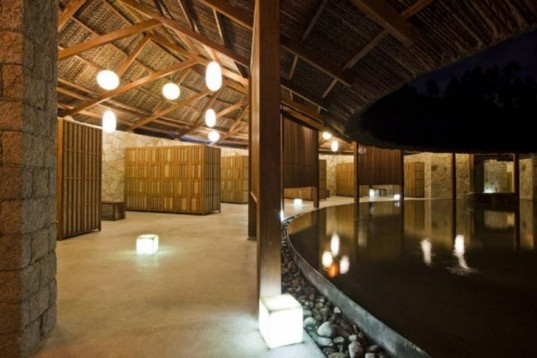 I Resort, A21 Studio, Nha Trang city, vietnam, natural materials, local materials, thatched-roof, mortise and tenon joints, architecture, green materials