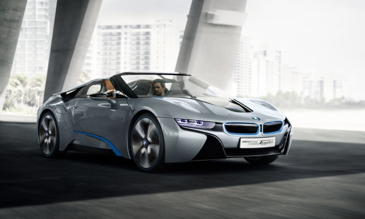 BMW i8 Spyder Concept « Inhabitat – Green Design, Innovation ...
