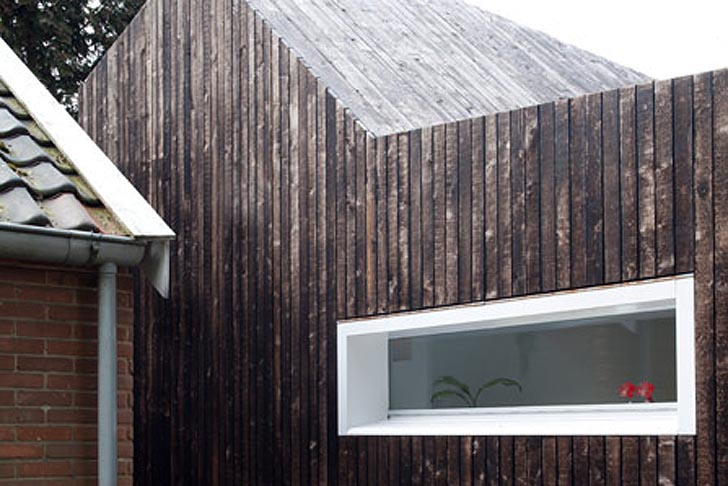 Dutch Bytr Architects Use Hot Japanese Technique For A