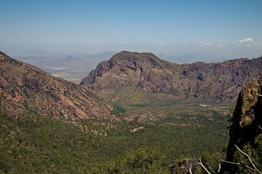 Big Bend, National Park, Texas, mountains, haze, air quality, nature