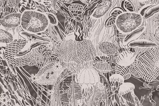 art, recycling / compost, Bovery Lee, paper cut, Paper Knife, paper drawing, paper illustrations, intricate art, delicate art, Chinese rice paper, paper knife, hong kong, Pennsylvania, tsunami, forced labor