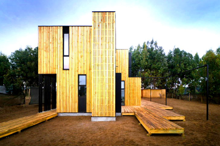 Modular casa sip is a zero waste home in chile inhabitat for Sips panel prices
