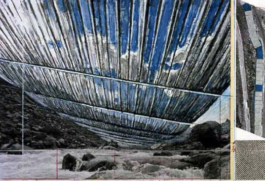 Christo and Jeanne-Claude, Christo art,envrionmental art, Colorado art, Christo Colorado, Over the river