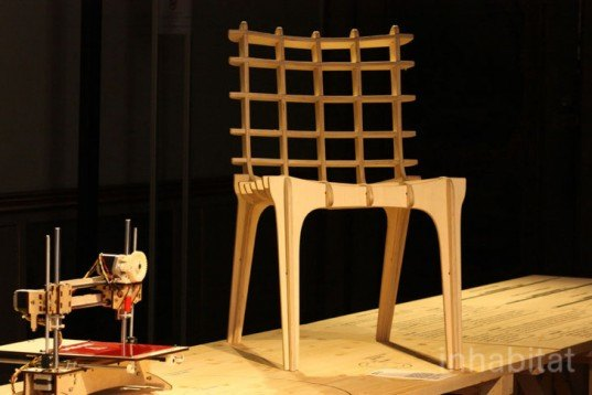Diatom Studio, Sketch Chair, open-source software for design, 2d design software, diy chairs