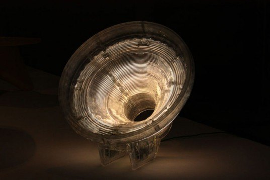 Dirk Vander Kooij, Recycled CDs Lamp, recycled material lamps, recycled material furniture, green lighting