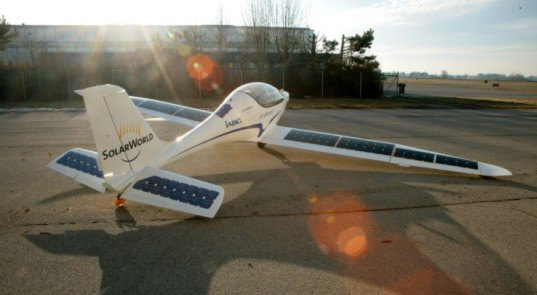 World New Inventions......: New Invention:Solar Plane