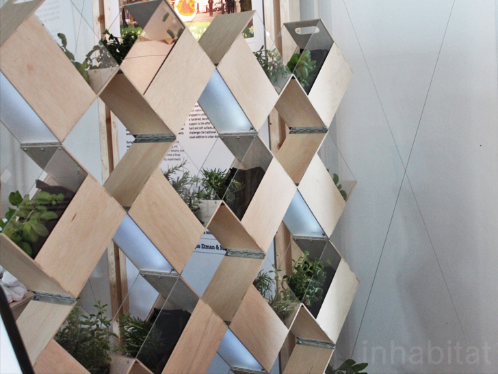 Herb2 from fabrikaat is an innovative indoor vertical for Innovation windows