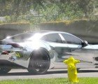 Justin Bieber Wraps His 2012 Fisker Karma in Shiny Chrome