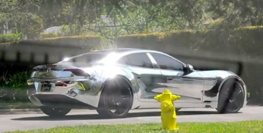 electric cars, electric sedan, fisker, fisker karma, green transportation, hybrid cars, justin bieber, plug-in hybrid, TMZ
