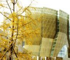New French Embassy in China Has a Golden Silk-Screened Facade