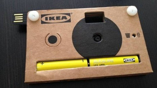 IKEA, cardboard camera, IKEA camera, rangefinder, disposable camera